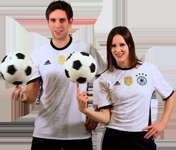 Die Fußballartisten mit ihrer aktuellen Fußballshow zur EM 2016