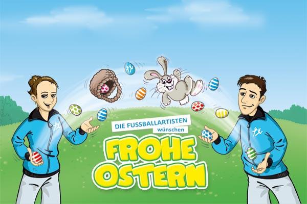 Die Fußballartisten wünschen frohe Ostern