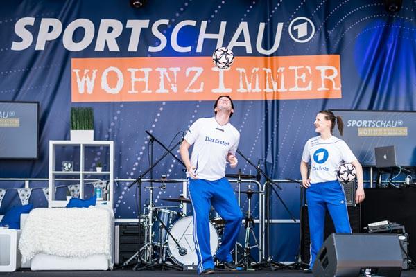 DFB-Pokalfinale 2016 - Die Fussballartisten