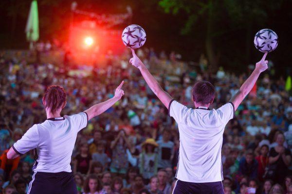 Fußballshow - MondLichtFest 2016 Berlin