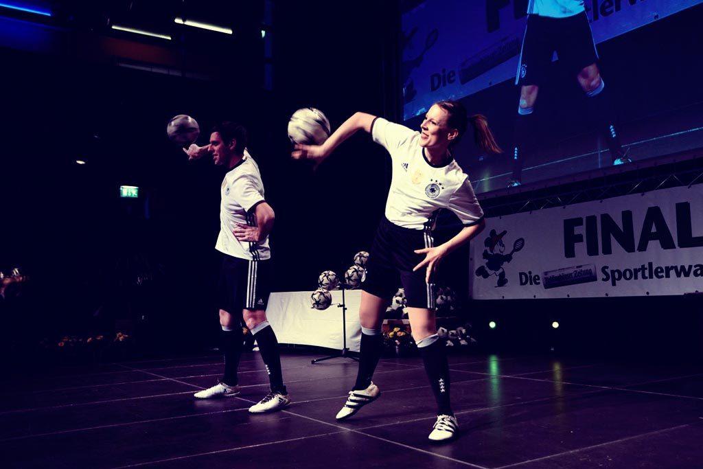 Fußball Freestyle Show mit den Fußballartisten - Finale 2018 - Die Party des Sports Recklinghausen