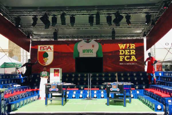 Showtime für den FCA bei den Augsburger Sommernächten