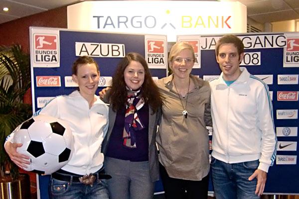 Fußball Show für die TARGOBANK